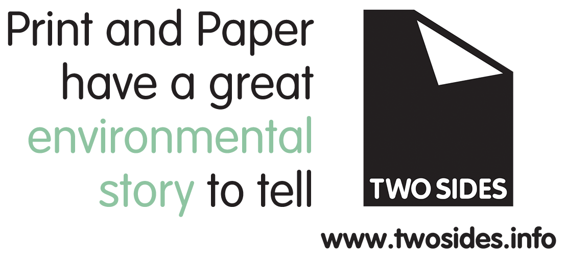 Two Sides logo with left text